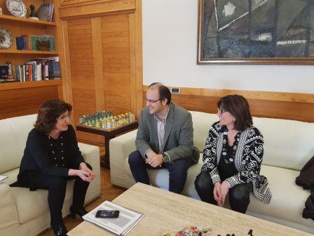 Nos hemos reunido con la Consejera de Ciudadanía y Derechos Sociales