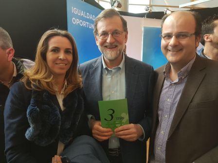 El sábado 24 de febrero estuvimos con Mariano Rajoy