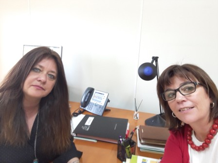 Reunión con la Subdirectora Provincial del Departamento de Ciudadanía y Servicios Sociales del Gobierno de Aragón