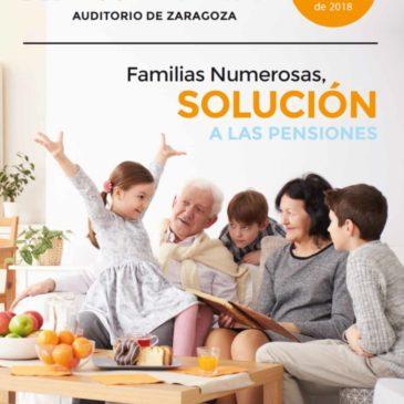 XI Congreso Nacional de Familias Numerosas, 20 de octubre en Zaragoza