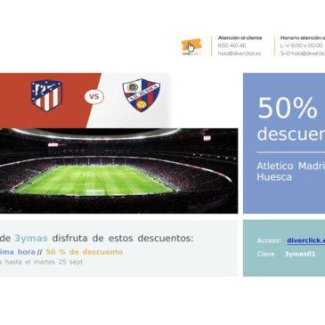 Oferta de última hora Atlético Madrid – Huesca
