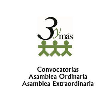 Convocatoria Asambleas Generales de Socios Extraordinaria y Ordinaria