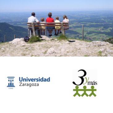 Alumnos de la UZ realizan un estudio sobre el perfil de la familia numerosa en Aragón