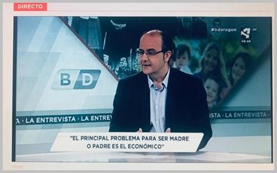 Entrevista al presidente de 3ymás en Aragón TV