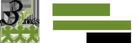 logotipo de la asociacion de familias numeros s de Aragon. 3ymas