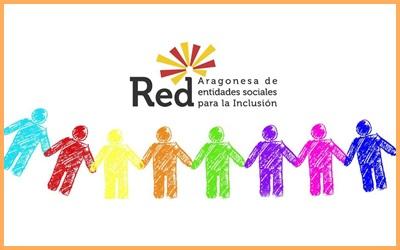 Ya formamos parte de la Red Aragonesa de Entidades Sociales para la Inclusión