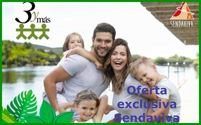 SENDAVIVA, oferta exclusiva para socios: 22 de junio 60 € por familia