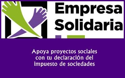 ¿Quieres ser una empresa solidaria? Apoya proyectos sociales con tu declaración