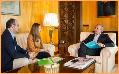 Nos hemos reunido con el Alcalde de Zaragoza
