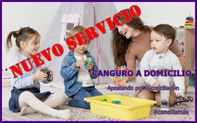 Nuevo servicio: CANGURO A DOMICILIO
