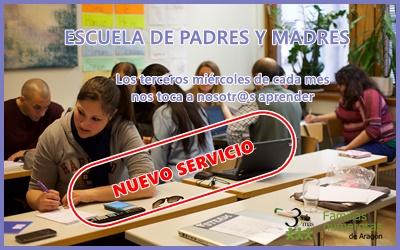 NUEVO SERVICIO: ESCUELA DE PADRES Y MADRES