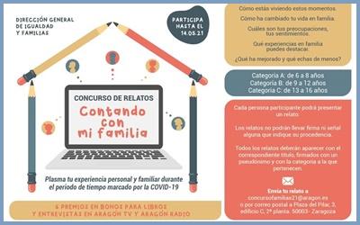 2ª EDICIÓN CONCURSO RELATOS CORTOS DIA DE LAS FAMILIAS