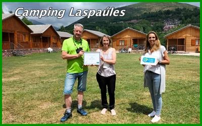 Camping Laspaúles cuenta con el Sello de Turismo Familiar