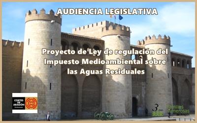 3ymás comparece en las Cortes para mostrar nuestro desacuerdo con el nuevo Impuesto de Aguas Residuales