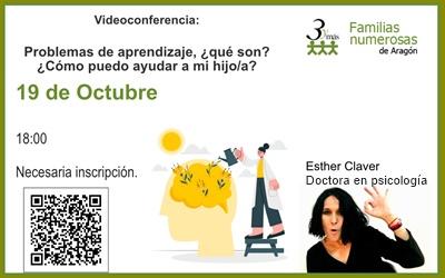 Videoconferencia: Niños y niñas con problemas de aprendizaje